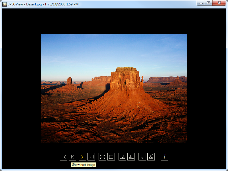 Portable JPEGView screenshot